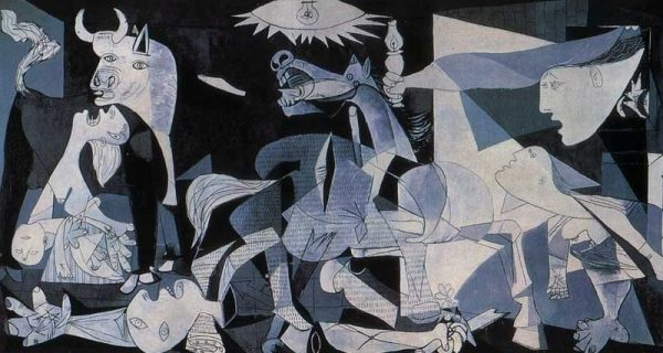 Guernica painting by Pablo Picasso