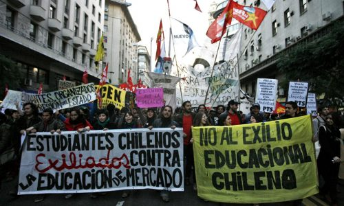 Chile student protests